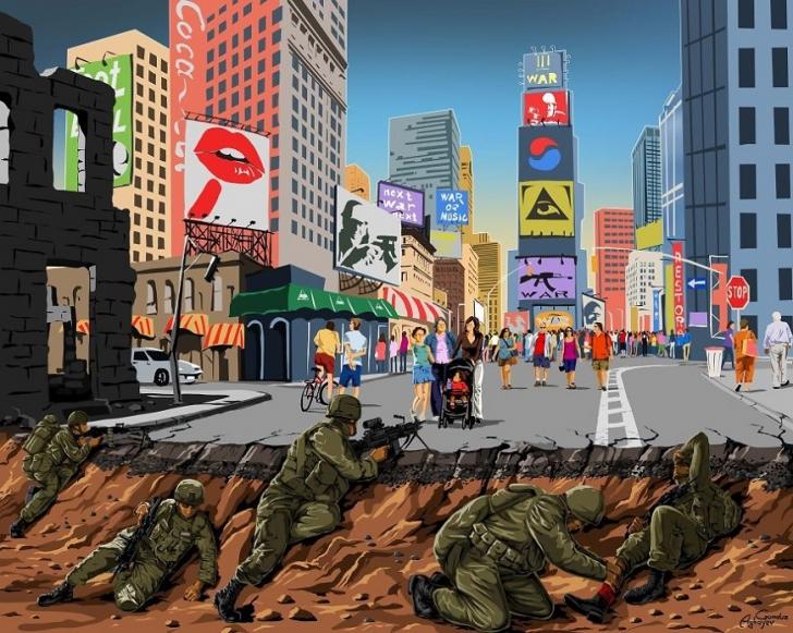 Война и мир - новая серия иллюстраций