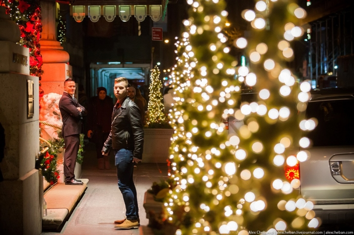 Америка готовится к празднованию рождества