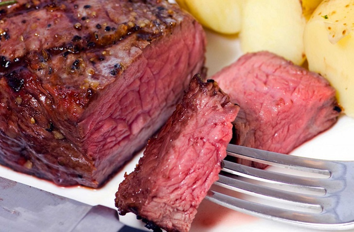 стейк со свинины в духовке рецепты